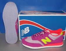 WOMENS NEW BALANCE CW 620 MY in colors PURPLE / YELLOW / PINK SIZE 7.5