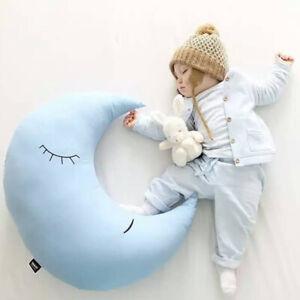 Kids Nursery Pillow Kids Children Soft Toys Cloud Moon Cushion Sweet Dreams