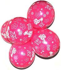 10 X 12inch Baby Shower Helium Giraff Girl Boy Birthday Balloon Balloons Pink