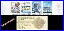 SWEDEN 1988 NOBEL PRIZE/CHEMISTRY full booklet SC#1712a MNH  SCIENCE, JUDAICA
