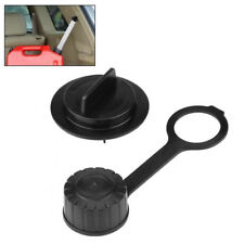 Black Gas Can Parts Kit Stopper Cap + Rear Vent Gasket Cap for Gott Rubbermaid