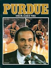 1980 Purdue University Basketball Media Guide  W2