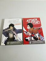 Attack On Titan No Regrets Vol 1-2 Manga Comics English