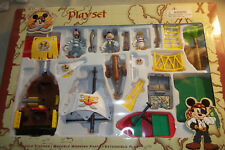 Disney Mickey Mouse Pirates of the Caribbean Figurine Play Set, In Original Box