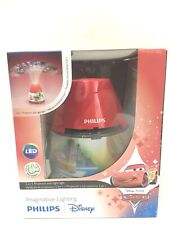 Philips Disney Cars 2-in-1 Projector and Night Light, Red