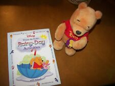 Plush Winnie The Pooh And Rainy Day Activities Book