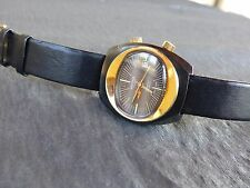 Very Rare Vintage Sicura Breitling Hand winding 17Jewels ALARM DATE Movement