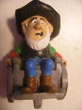 Figurine Vintage PVC SCHLEICH W.GERMANY 1984 Morris Dargaud LUCKY LUKE OLDTIMER