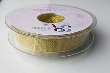 Gold & Silver Decorative Lurex Ribbon by SR various sizes PREMIUM QUALITY