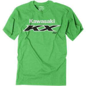 Factory Effex Youth Kawasaki KX T-Shirt (Green) Choose Size