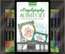 Calligraphy, #Crayoligraphy Activity Set by Crayola Signature New