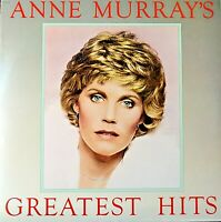 Anne Murray's Greatest Hits Vinyl LP Stereo Record 1980 on Capitol SOO-12110 VG+