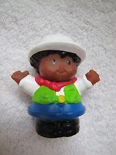 Fisher Price Little People BOY MICHAEL SAFARI JUNGLE ZOO GUIDE in White Hat