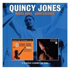 QUINCY JONES - BOSSA NOVA & QUINTESSENCE 2 CLASSIC ALBUMS ON NEW SEALED 2CD