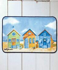 Tropical Paradise Seaside Bath Rug Fun Colors Beach Houses Non Slip Bath Rug