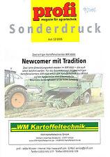 WM 8500 Zweireihiger Kartoffelvollernter, orig. profi- Sonderdruck 2006