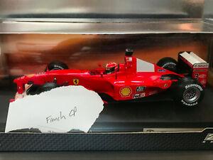 1/18 Mattel 2000 Ferrari F2000 M. Schumacher Custom French GP