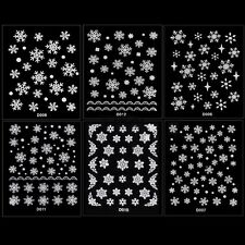 as Copo De Nieve Flor Nail Art Decor Uñas Manicura Decal Stickers 3D TXCL