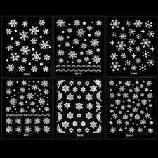 as Copo De Nieve Flor Nail Art Decor Uñas Manicura Decal Stickers 3D TXCL