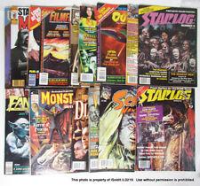Lot 16 Horror & Fantasy Movie Magazines Monsters Sci-Fi Film 1970s-1980s