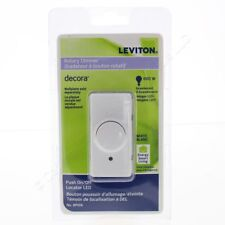 (A) Leviton RPI06-ILW Energy Smart living Rotary dimmer Ivory (QTY 2)