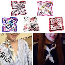 Moda Boho Artificial Seda Bufanda Floral Pañuelos Accesorio de Mujer Profesional