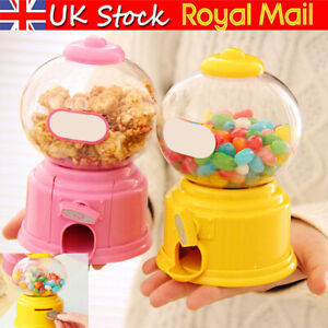 Gumball Machine Bubble Gum Sweet Dispenser Mini Candy Vending Toy Xmas Gifts