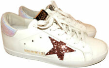 GOLDEN GOOSE Superstar White Low Top Sneakers Flats Skating Shoes 37 Skateboard