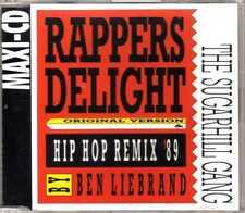 Sugarhill Gang - Rappers Delight (Original & Hip Hop Remix) - CDM - 1989 - 3TR