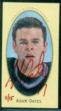 2011-12 Parkhurst Champions Champ's Mini Signatures Red Ink Adam Oates 11/15
