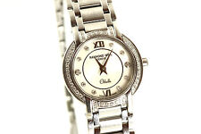 Ladie's Raymond Weil Othello Stainless Steel MOP Diamond Quartz Watch