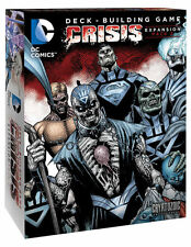 DC Comics Deck Building Game Crisis Expansion 2 Cryptozoic New Sealed CRY18250