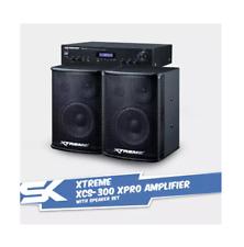 Xtreme XCS-300 Amplifier with Speaker Set
