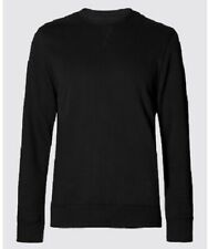 Ex M&S Crew Neck Fleece Casual Plain Jumper Sweatshirt Pullover Marks Spencer