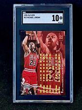 1995-96 Fleer Michael Jordan #22 SGC 10 Gem Mint