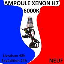 AMPOULE DE RECHANGE 35W POUR KIT XENON HID H7 6000K NEUF