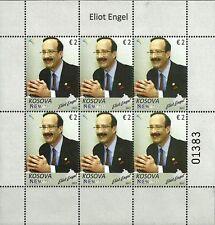 Kosovo Stamps 2017. Personality Eliot Engel. Mini Sheet MNH