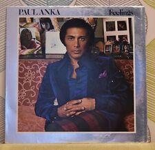 PAUL ANKA - Feelings [Vinyl LP,1975] USA Import UA-LA367-G Rock Pop Vocal *EXC