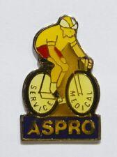 PINS CYCLISME VELO LE TOUR DE FRANCE SERVICE MEDICAL SANTE MEDECINE ASPRO