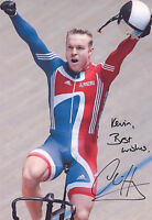 SIR CHRIS HOY Signed 12x8 Photo OLYMPIC GOLD MEDALIST Cycling Champion COA