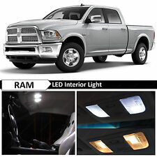 12x White Interior LED Lights Package Kit for 2009-2014 Dodge RAM 1500 + TOOL