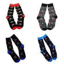 Men's Middle Tube Cotton Stockings Cartoon Breathable Socks Christmas Socks BN