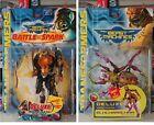 Transformers BM LOT of 2: Blackarachnia (1999) & Night Slash Cheetor (2000)