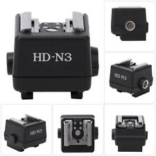 HD-N3 Flash Light Hot Shoe Mounting Adapter Accessory For Sony A55 A33 A100 A350