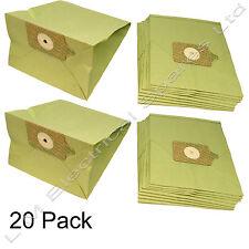 20 x Vacuum Cleaner Paper Bags Dust Bag For Numatic George Charles Edward Models