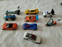 Lot of (9) Vintage Original  Hot Wheels Cars Mixed Lot 80s to 2000