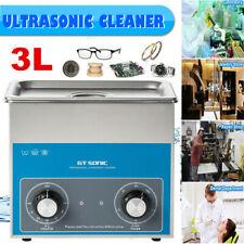3L Pulitore Ad Ultrasuoni Lavatrice Vasca Ultrasuoni Timer Cesto Pulizia Heating
