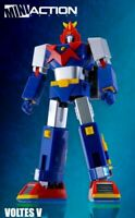 ACTION TOYS SUPER ROBOT MINI ACTION SERIES VULTUS V VOLTES V NUOVO