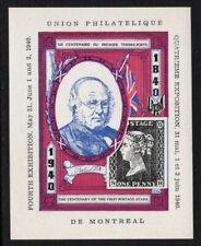 """""""Union Philatelique de Montreal"""" - 4th Exhibition 1940 -  Souvenir Sheet MNH"""