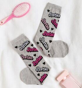 Official Barbie Logo Socks